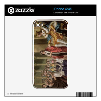 Louis XII (1462-1515) Declared Father of the Peopl Decals For The iPhone 4