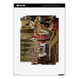 Louis XII (1462-1515) Declared Father of the Peopl iPad 3 Decals