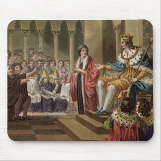 Louis XII (1462-1515) Declared Father of the Peopl Mouse Pad