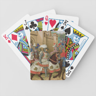 Louis XII (1462-1515) Leaving Alexandria on the 24 Bicycle Playing Cards