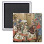 Louis XII (1462-1515) que sale de Alexandría en el Imán Cuadrado
