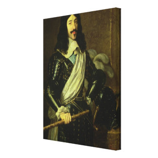 Louis XIII (1601-43) (oil on canvas) Gallery Wrap Canvas