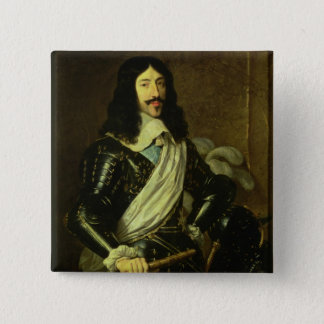 Louis XIII (1601-43) (oil on canvas) Button