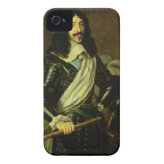 Louis XIII (1601-43) (oil on canvas) iPhone 4 Case