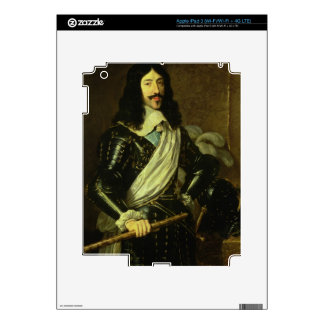 Louis XIII (1601-43) (oil on canvas) Skins For iPad 3