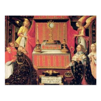 Louis XIII Anne de la infanta de Austria de España Postales
