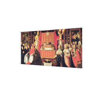 Louis XIII  Anne of Austria  Infanta of Spain Canvas Print