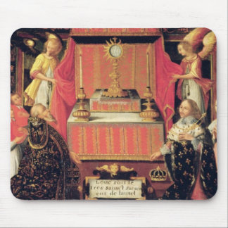 Louis XIII  Anne of Austria  Infanta of Spain Mouse Pad
