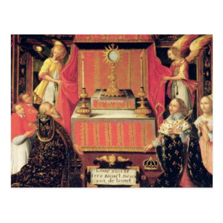 Louis XIII  Anne of Austria  Infanta of Spain Postcard