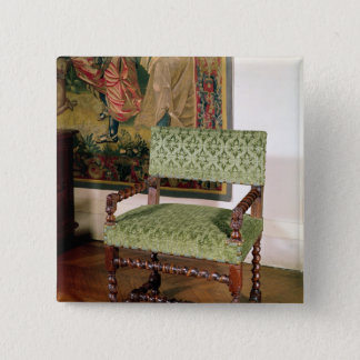 Louis XIII armchair Button