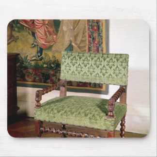 Louis XIII armchair Mouse Pad