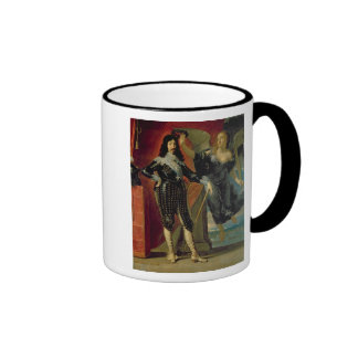 Louis XIII  Crowned by Victory, 1635 Ringer Coffee Mug