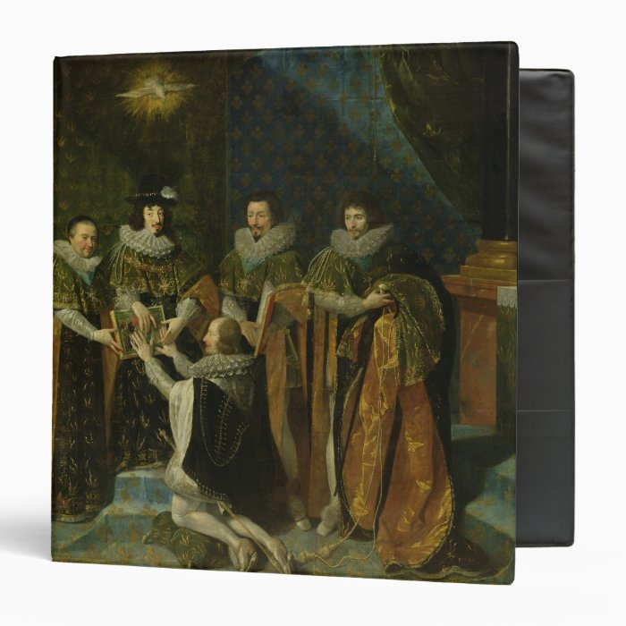 Louis XIII  Receiving Henri d'Orleans Binder