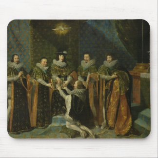 Louis XIII  Receiving Henri d'Orleans Mouse Pad