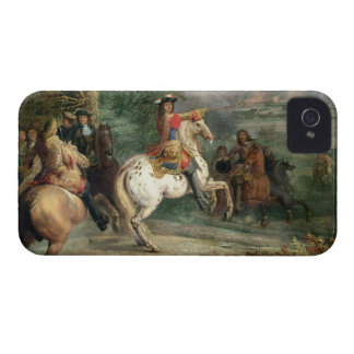 Louis XIV (1638-1715) Overseeing the Siege of a Ci Case-Mate iPhone 4 Case