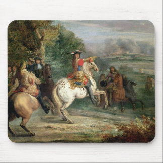 Louis XIV (1638-1715) Overseeing the Siege of a Ci Mouse Pad