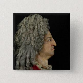 Louis XIV  1706 Pinback Button