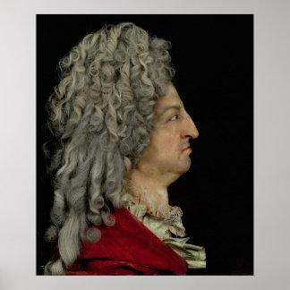 Louis XIV  1706 Poster
