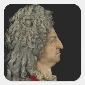 Louis XIV  1706 Square Sticker
