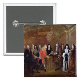 Louis XIV acoge con satisfacción al elector de Saj Pins