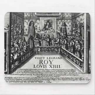 Louis XIV  administering justice Mouse Pad