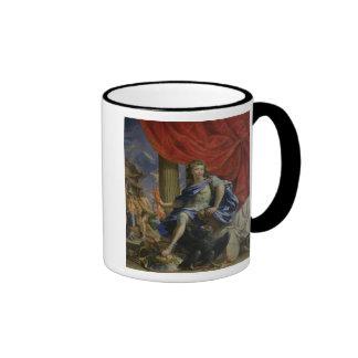 Louis XIV  as Jupiter Conquering the Fronde Ringer Mug