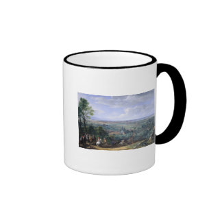 Louis XIV  at the Siege of Lille facing the Ringer Coffee Mug