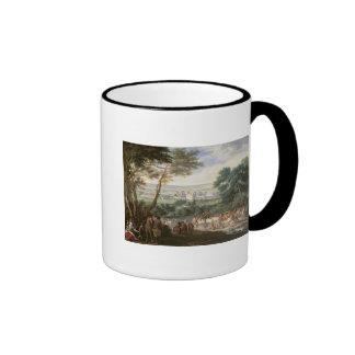 Louis XIV  at Vincennes Ringer Mug