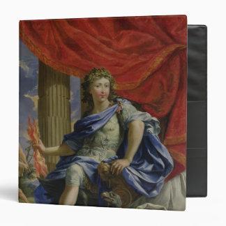 """Louis XIV como Júpiter que conquista el Fronde Carpeta 1 1/2"""""""