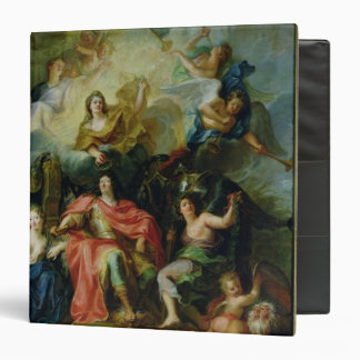 Louis XIV  Crowned by Glory, c.1686 3 Ring Binder