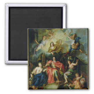 Louis XIV  Crowned by Glory, c.1686 Magnet