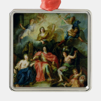 Louis XIV  Crowned by Glory, c.1686 Metal Ornament