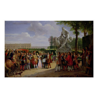 Louis XIV  Dedicating Puget's 'Milo of Poster