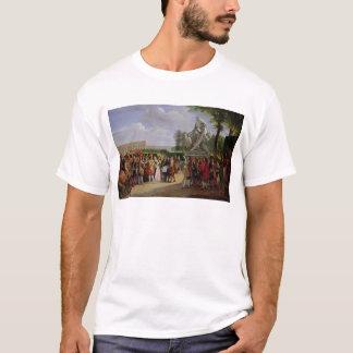 Louis XIV  Dedicating Puget's 'Milo of T-Shirt