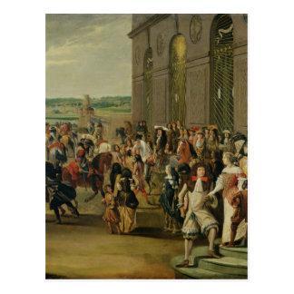 Louis XIV delante de la gruta de Thetis Postal