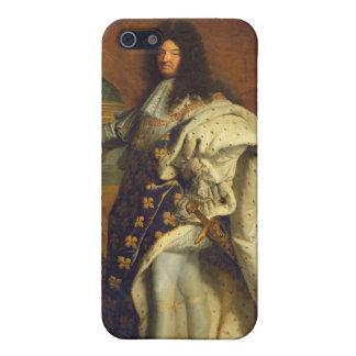 Louis XIV en traje real, 1701 iPhone 5 Funda