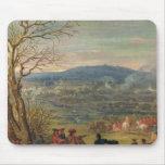 Louis XIV  in Battle near Mount Cassel Mouse Pad