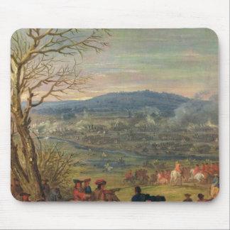 Louis XIV  in Battle near Mount Cassel Mousepad