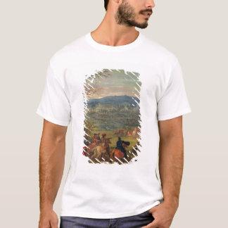 Louis XIV  in Battle near Mount Cassel T-Shirt
