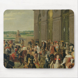 Louis XIV  in Front of the Grotto of Thetis Mouse Pad