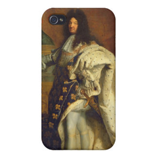 Louis XIV in Royal Costume, 1701 iPhone 4/4S Covers