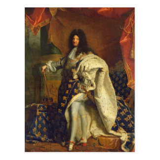 Louis XIV in Royal Costume, 1701 Postcards