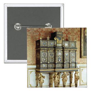 Louis XIV jewellery cabinet, Gobelins Workshop Button