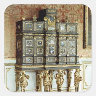 Louis XIV jewellery cabinet, Gobelins Workshop Square Sticker