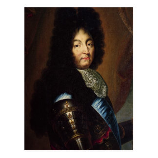 Louis XIV Postcard