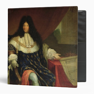 Louis XIV que lleva a cabo un plan del Maison