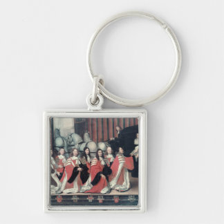 Louis XIV received by the sheriffs in Toulouse Keychain