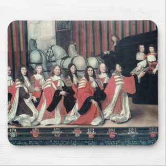 Louis XIV received by the sheriffs in Toulouse Mouse Pad