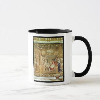 Louis XIV  receiving the Papal Legate Mug