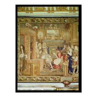Louis XIV  receiving the Papal Legate Poster